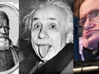 Las coincidiencias que unen a Stephen Hawking con Galileo, Newton y Einstein