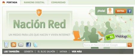 Actualizamos Nación Red con pestañas de contenidos y sistema de votaciones