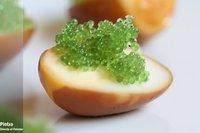 Receta de aperitivos de huevo con soja
