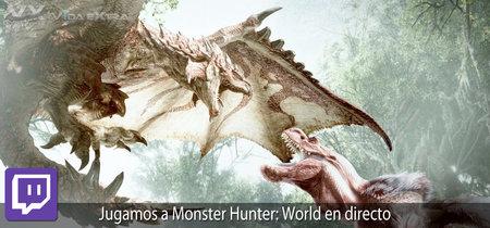 Streaming de Monster Hunter: World a las 17:30h (las 10:30h en Ciudad de México) [Finalizado]