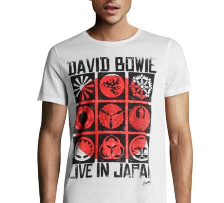 Camisetas de David Bowie, John Lennon y Nirvana en H&M
