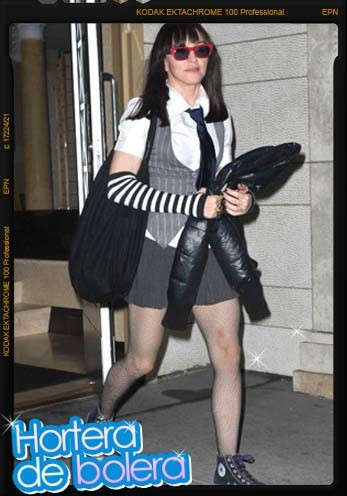 Madonna quiere volver a ser joven y se autonomina al Hortera de Bolera