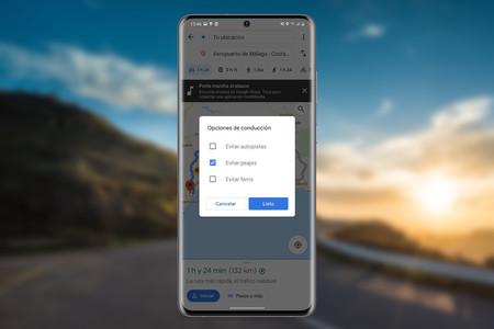 Cómo evitar peajes en Google Maps