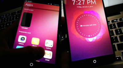 Se filtran imágenes del supuesto primer Ubuntu Phone oficial