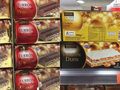 Mercadona, Carrefour, El Corte Inglés,...: quién fabrica sus turrones de marca blanca
