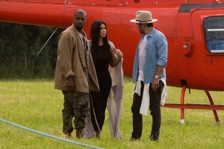 Kim Kardashian Glastonbury 2015