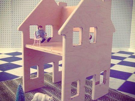 Casa muñecas silla - 2
