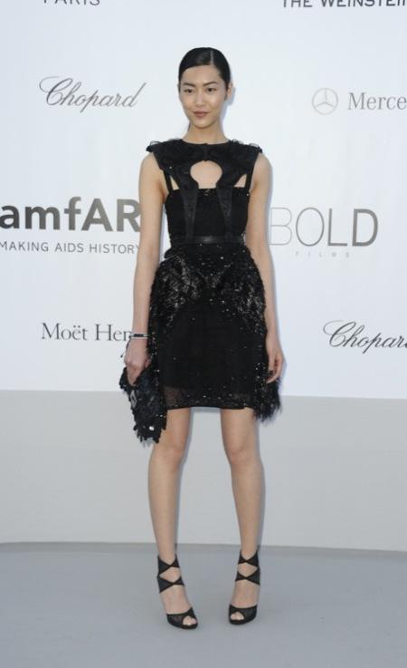 Liu Wen amFAR 2012 Cannes