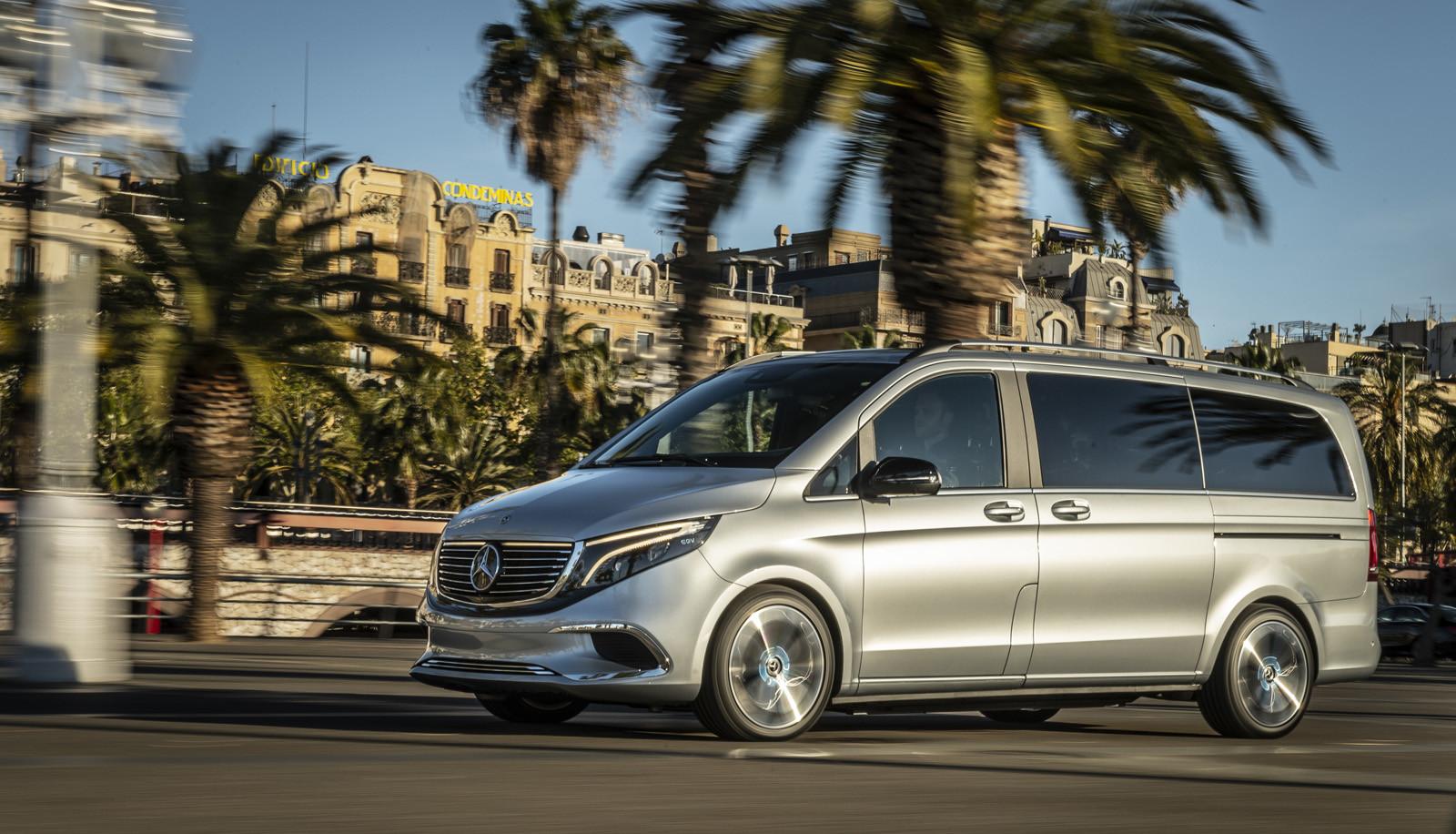 Foto de Mercedes-Benz Concept EQV (Barcelona) (1/20)