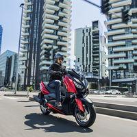 El Yamaha X-Max 125 se renueva con más tecnología y el TMAX como referencia