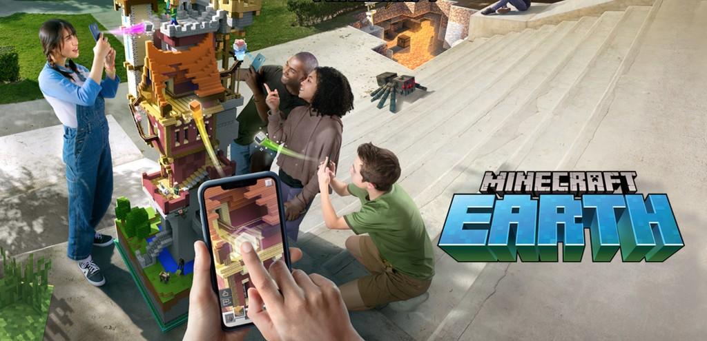 'Minecraft Earth' es el gran rival de 'Pokémon Go': Microsoft celebra los 10 años de 'Minecraft' con un nuevo y espectacular juego de realidad aumentada