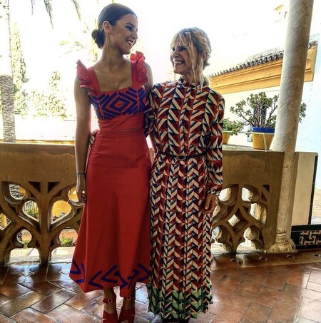 Eugenia Martínez de Irujo se lo pasa de lujo: presume de vestido junto a Tana Rivera y se vuelve loca con su maridín, Narcis Rebollo