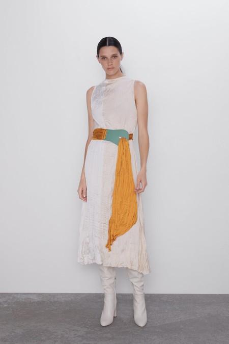 Vestidos Arrugados Zara 3