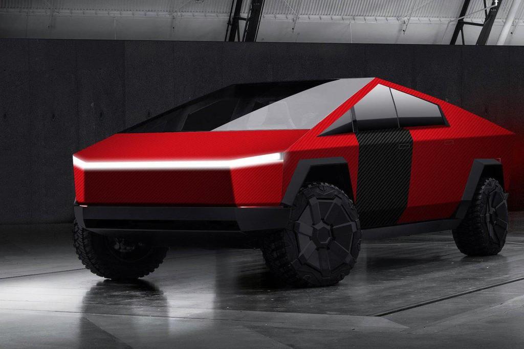 El diseño del Tesla Cybertruck lo aprovechan hasta las marcas de accesorios para móvil: esta empresa ya vende vinilos personalizables