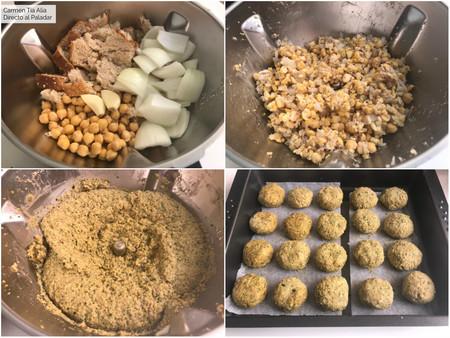Paso A Paso Falafel Ligero Con Magimix Cook Expert
