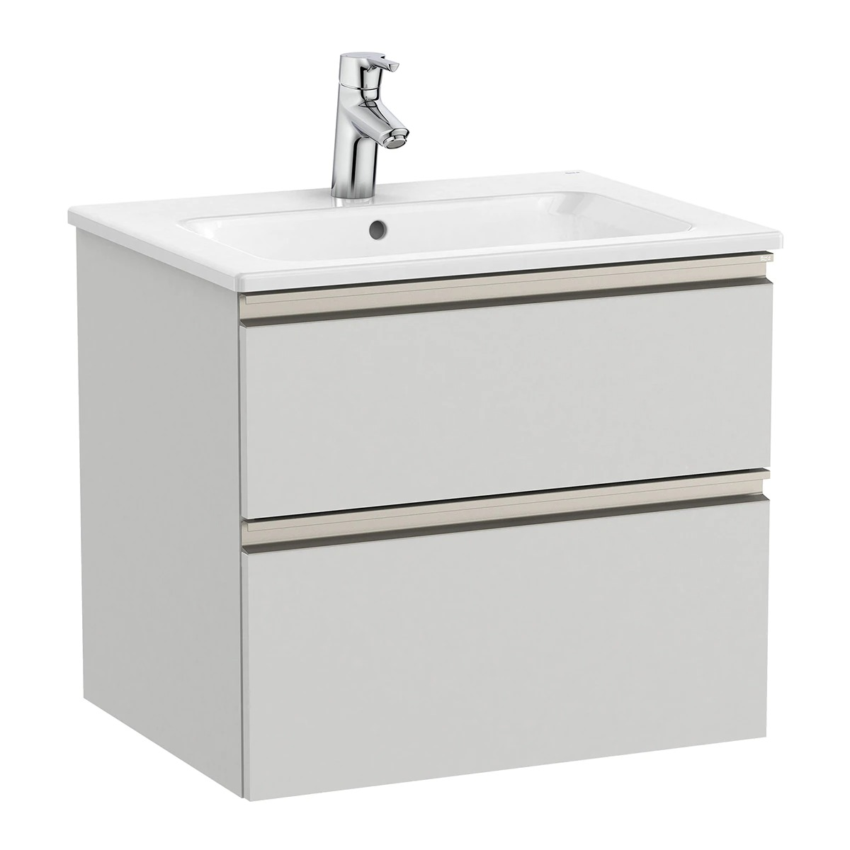 Mueble de baño con 2 cajones y lavabo The Gap Roca
