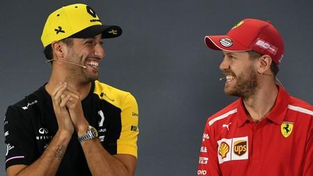 Vettel Ricciardo F1 2019