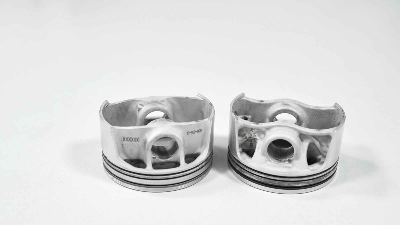 Foto de Pistones impresión digital Porsche (7/10)