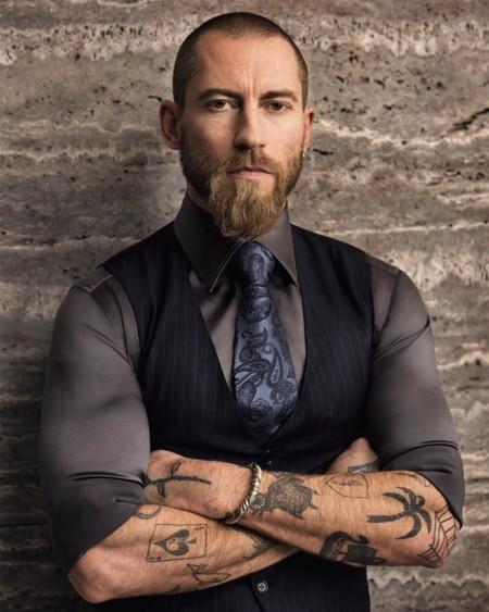 Justin O'Shea: de estrella cool en la moda de la calle a diseñador de Brioni