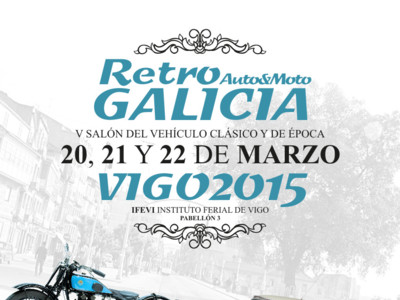 Planes de fin de semana, como ir al Salón Retro Auto&Moto Galicia