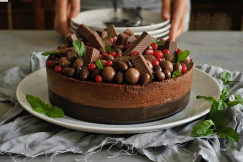 Tarta fácil de chocolate: receta sin horno lista en 30 minutos