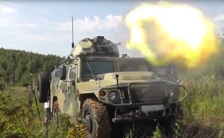 Video: Rusia creó un vehículo de combate autónomo