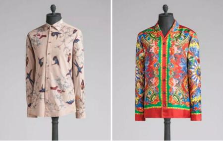 Close up a las prendas de la colección spring-summer 2016 de Dolce & Gabbana