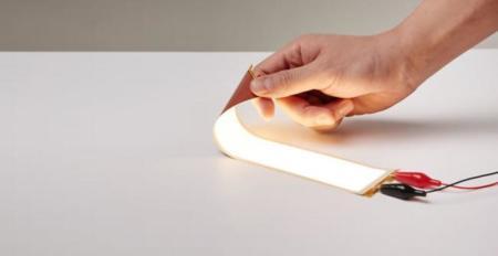 LG tiene listo su panel OLED flexible tan fino como una hoja de papel