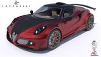¿Un Alfa Romeo 4C de 748 CV? El de Lazzarini Design