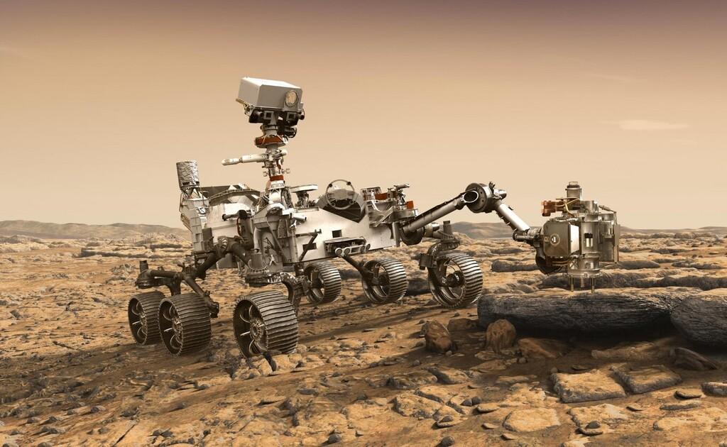 Perseverance nos permite saber cómo suena rodar por Marte por primera vez en la historia y... es espeluznante