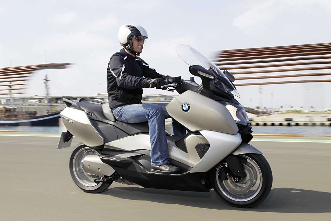Foto de BMW C 650 GT y BMW C 600 Sport, acción (46/83)