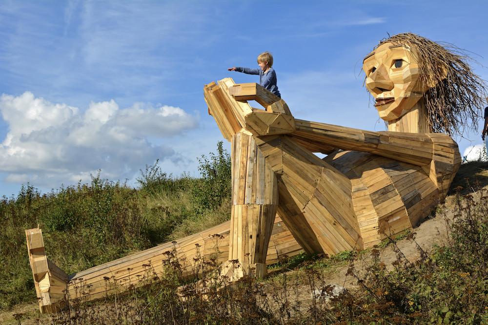 Foto de Gigantes Madera Copenhague (1/11)