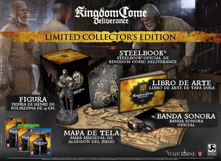 Kingdom Come Deliverance Edicion Coleccionista