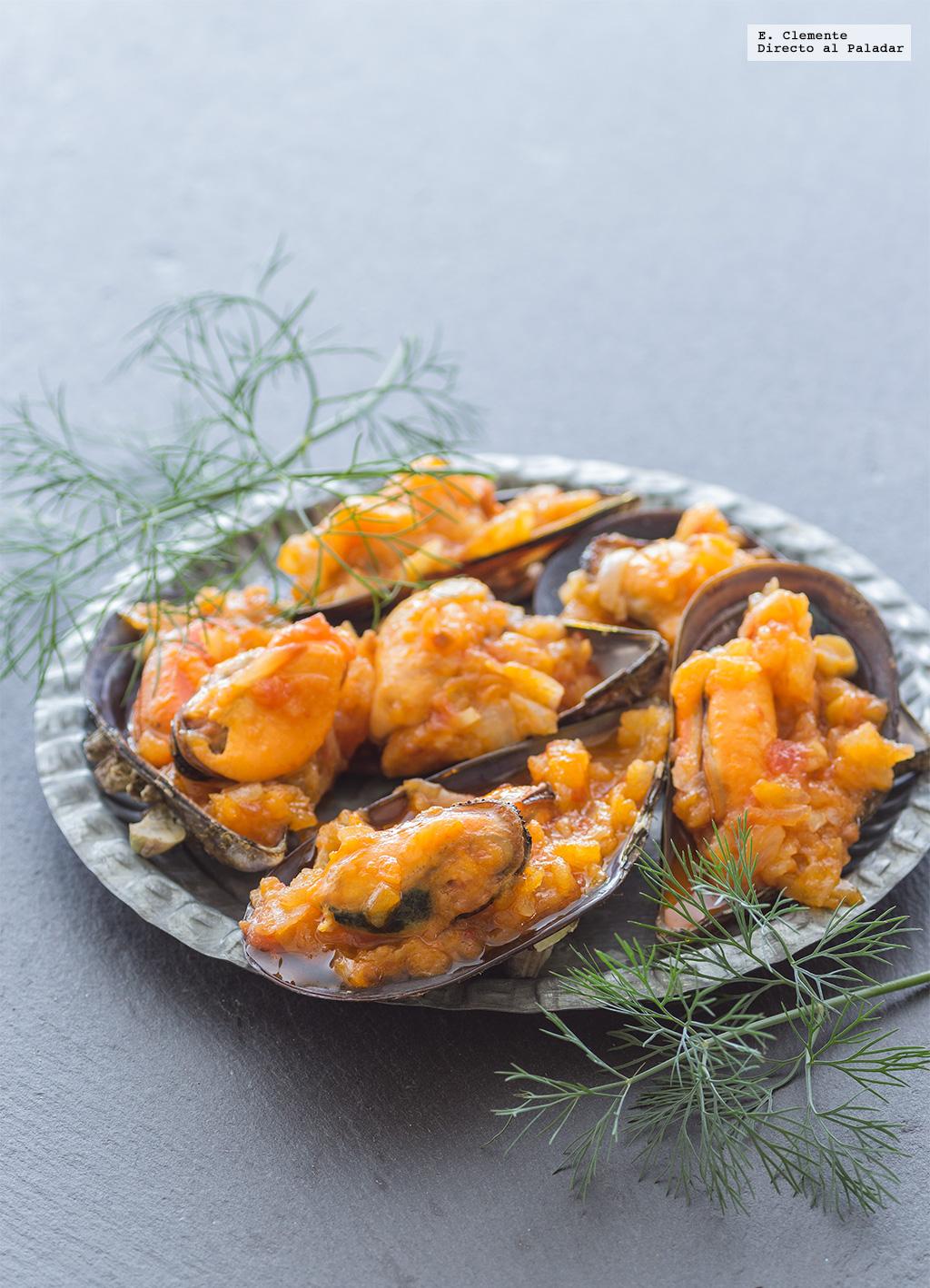 C mo hacer mejillones en salsa de vieira receta for Cocinar mejillones en salsa