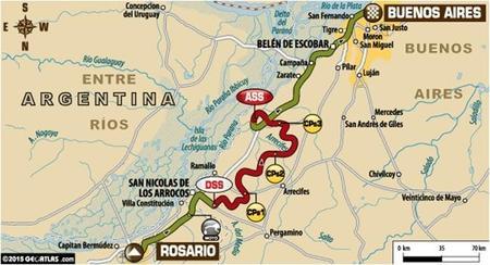 Recorrido Etapa13 Dakar2015