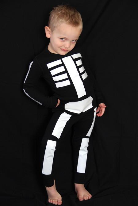 Disfraz Halloween Facil Barato Esqueleto 3