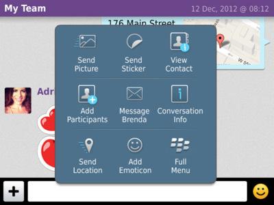 Viber anuncia llamadas VoIP y soporte en castellano para Blackberry OS