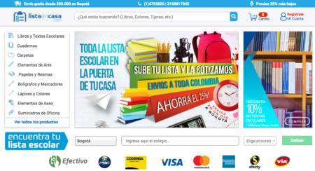 ListaEnCasa.com, un nuevo método para adquirir los útiles escolares a buen precio en Colombia