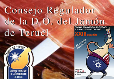 Jamón de Teruel, producto estrella durante esta semana