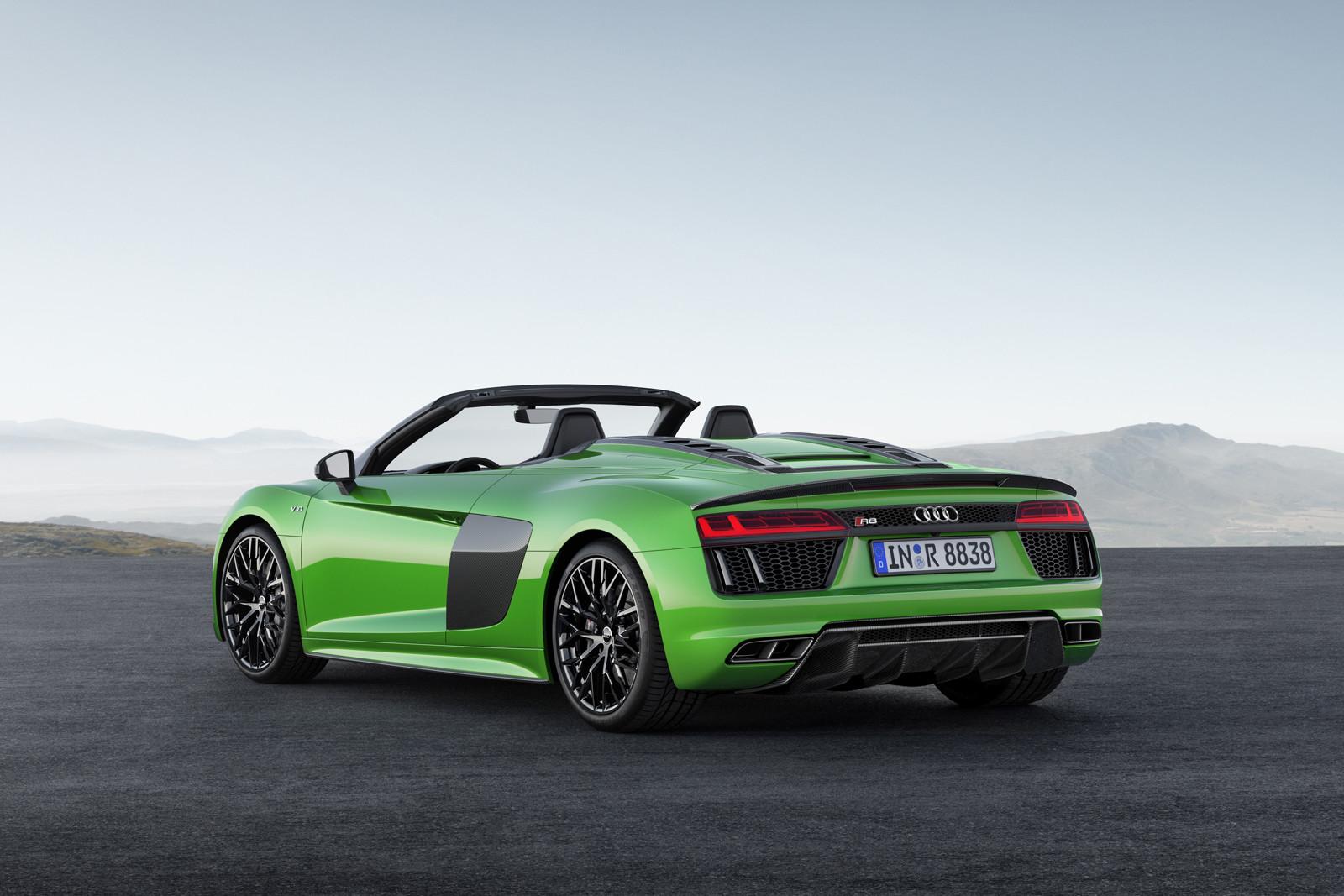 Foto de Audi R8 Spyder V10 Plus (1/10)