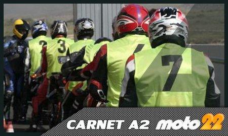 Permisos de conducir A1, A2 y A, cómo son los exámenes prácticos del carnet de moto
