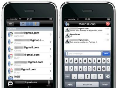Palringo, cliente de mensajería multiprotocolo en tu iPhone
