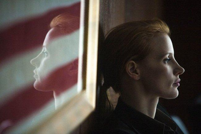 Jessica Chastain en 'La noche más oscura'