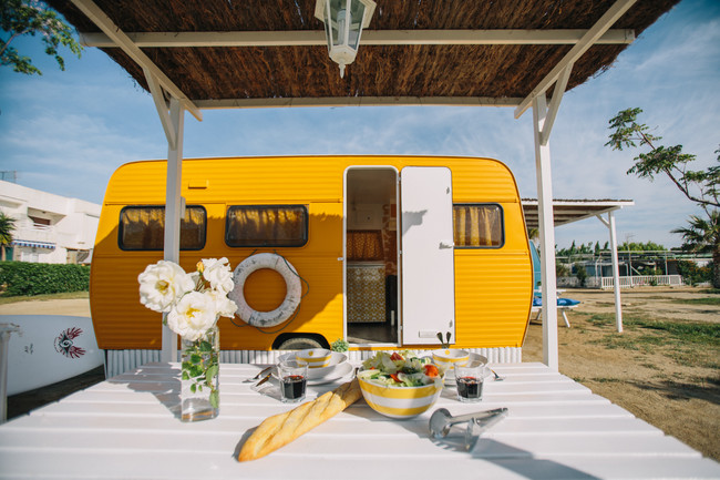 Camping Miramar Caravanas Vintage