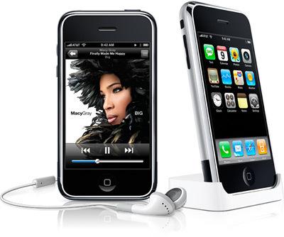 Los cascos y el dock del iPhone