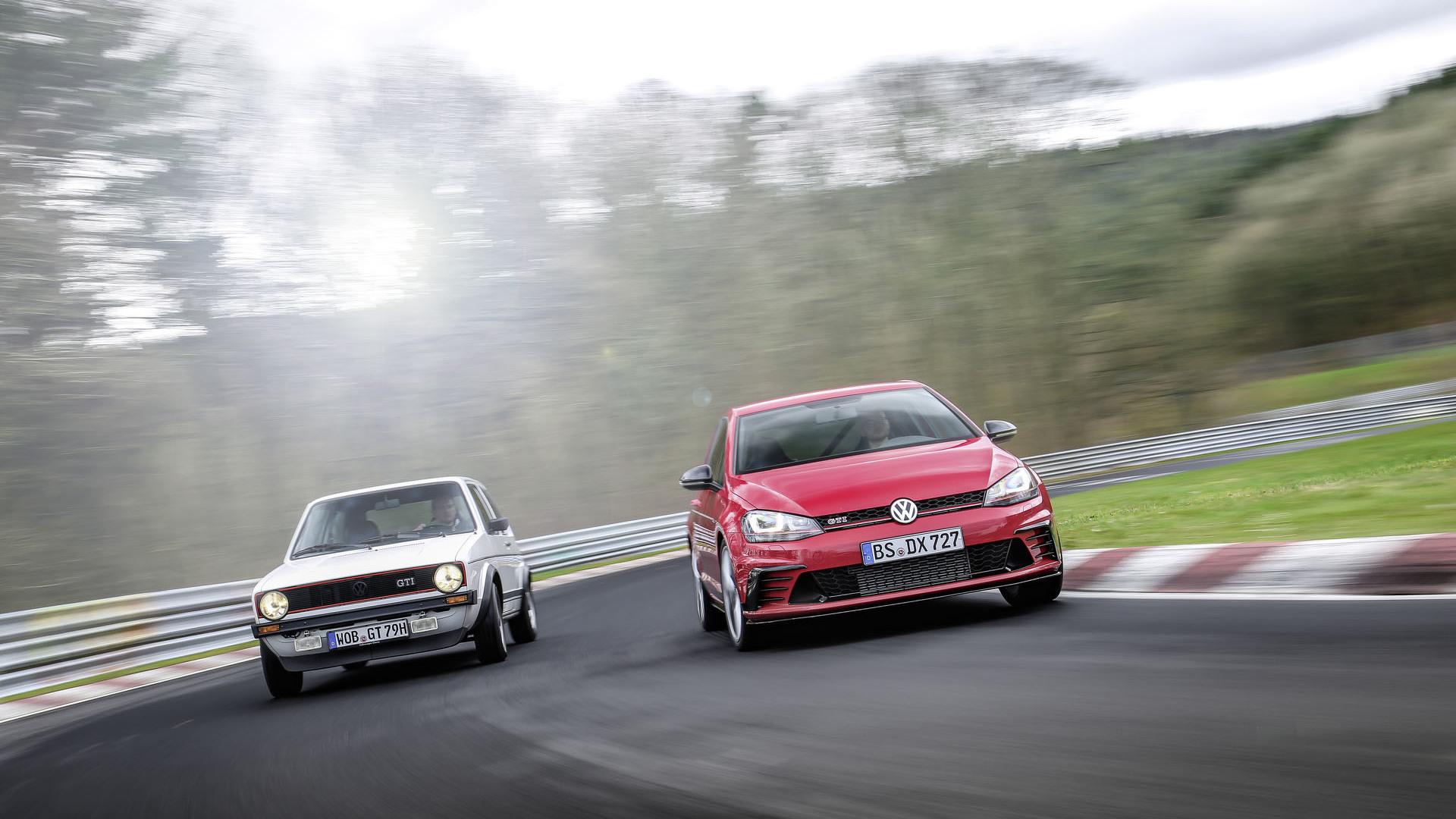 Foto de Volkswagen Golf GTI Clubsport S (35/36)
