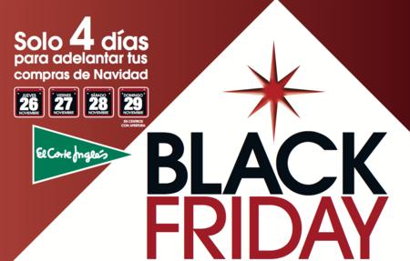 El Black Friday 2015 en El Corte Inglés... ¡empieza hoy miércoles!