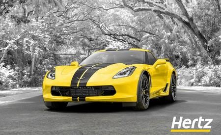 Hertz celebra su centenario dejándote rentar un Chevrolet Corvette Z06