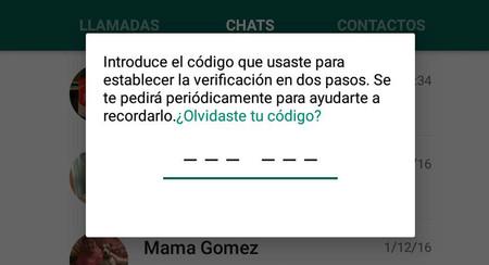 La verificación de dos pasos de WhatsApp es tan molesta como inútil