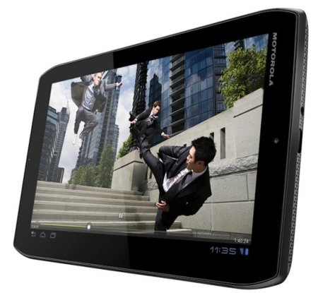 Motorola Xoom 2 Media Edition pantalla